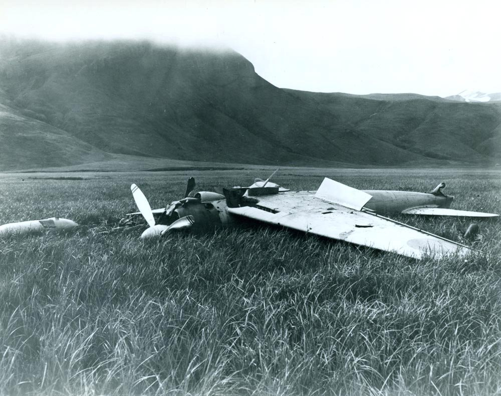 10 Jul 1942 Mitsubishi A6M2 Zero found on Akutan Island.