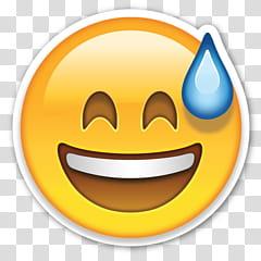Awkward emoji transparent background PNG clipart.