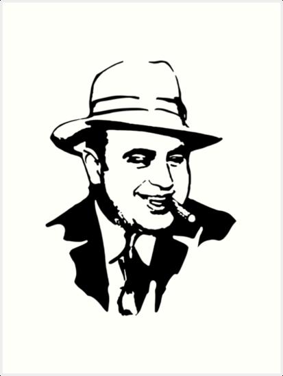'Al Capone' Art Print by MichaelRellov.