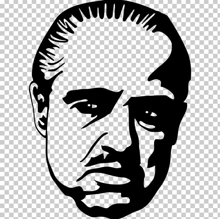 Marlon Brando The Godfather Vito Corleone Gangster PNG.