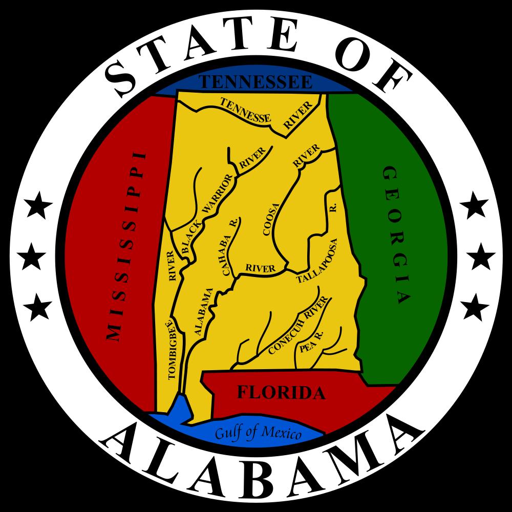 Alabama clip art.
