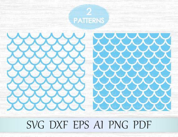 Mermaid seamless pattern, Mermaid pattern svg, Mermaid scale svg, Mermaid  svg, Fish scale pattern, Scallop pattern, Mermaid pattern cricut.