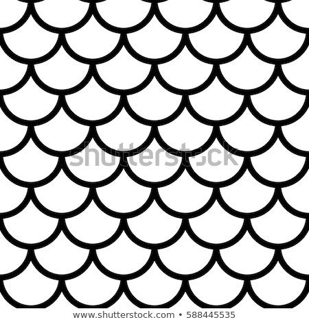 Japanese traditional ornament. Seamless pattern. Black and.