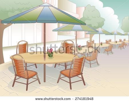 Al Fresco Dining Stock Vectors & Vector Clip Art.