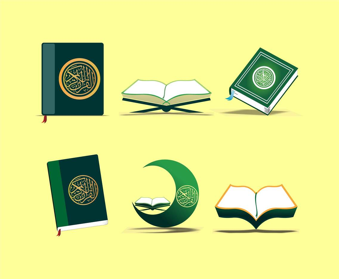 The Al Quran Clipart Vector Vector Art & Graphics.