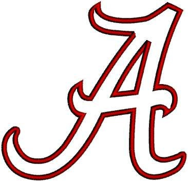 Alabama Football Clipart.