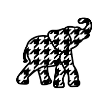 Alabama A Clipart For An Art Project With An Elephent In The A.