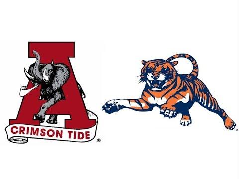 1991 Iron Bowl, #8 Alabama vs Auburn (Highlights).