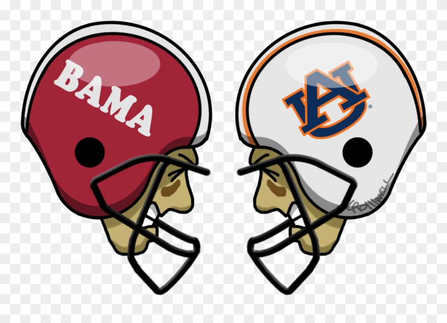 Alabama Crimson Tide Auburn Tigers Classic Football.