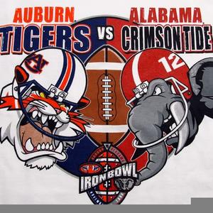 Alabama Vs Auburn Clipart.
