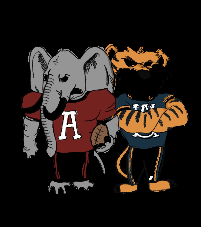Two football dilemmas: Bama's quarterbacks and Auburn's schedule.