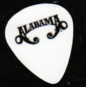 Details about ALABAMA BAND LOGO GUITAR PICKS SET OF 4.