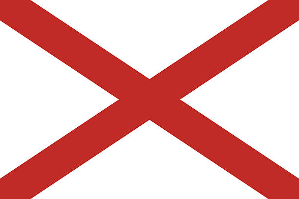 Alabama State Flag Illustrations, Royalty.