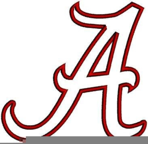 Free University Of Alabama Clipart.
