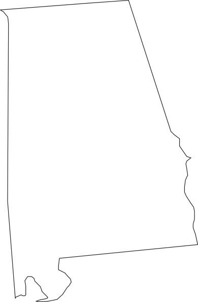 Alabama Outline Clip Art at Clker.com.