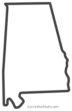 Alabama clipart shape, Alabama shape Transparent FREE for.