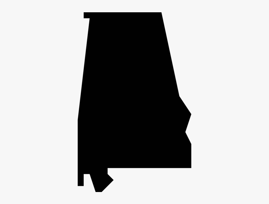 Alabama State Silhouette Png , Free Transparent Clipart.