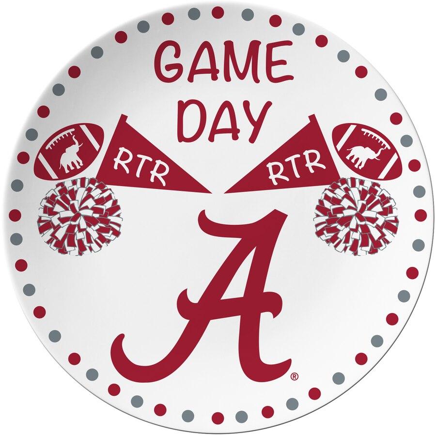 Alabama Crimson Tide Game Day Plate.