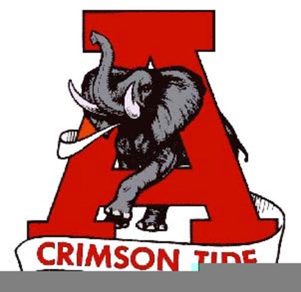 Free Alabama Crimson Tide Clipart.