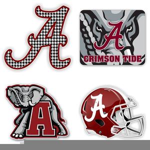 Alabama Crimson Tide Clipart.