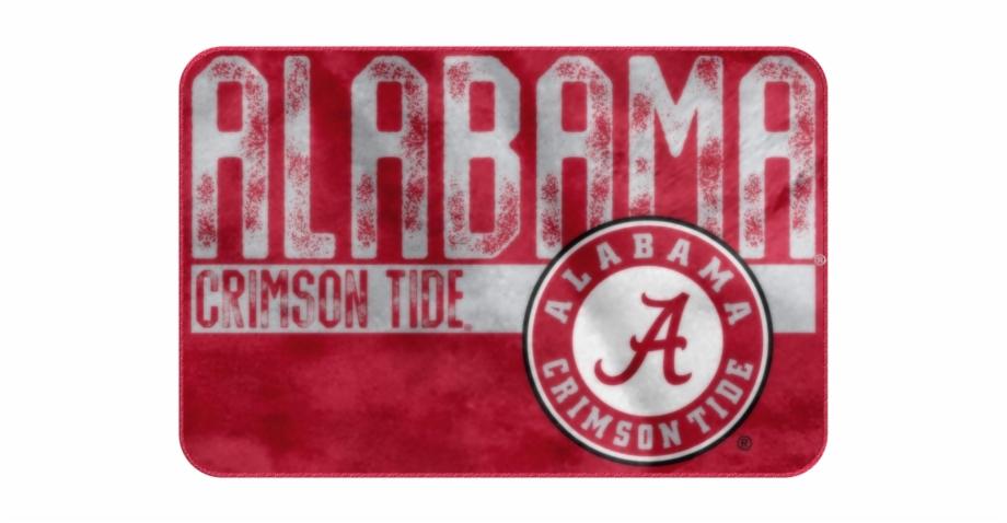 Alabama Crimson Tide Foam Rug Bathroom Mat