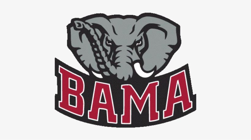 Logo , University, Of, Alabama, Crimson, Tide, Elephant,.