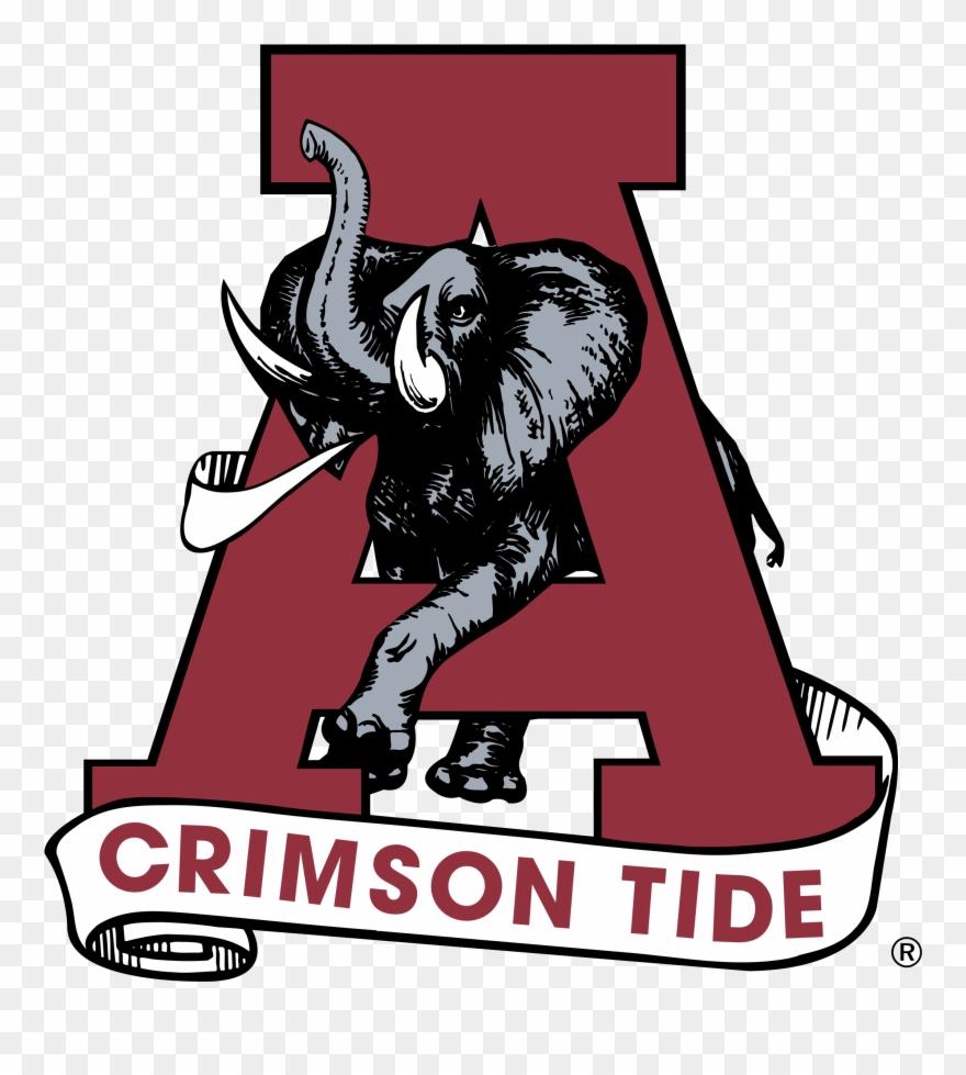 Alabama Crimson Tide Logo Png Transparent Clipart (#2250123.