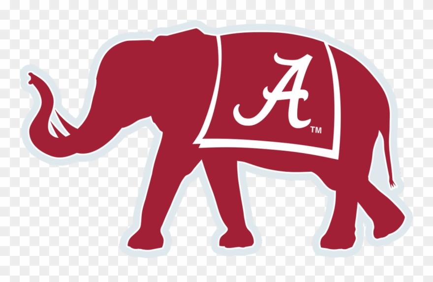 Alabama Elephant Decal The Crimson Locker.