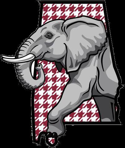 Download Asian Elephant Clipart Alabama Elephant.