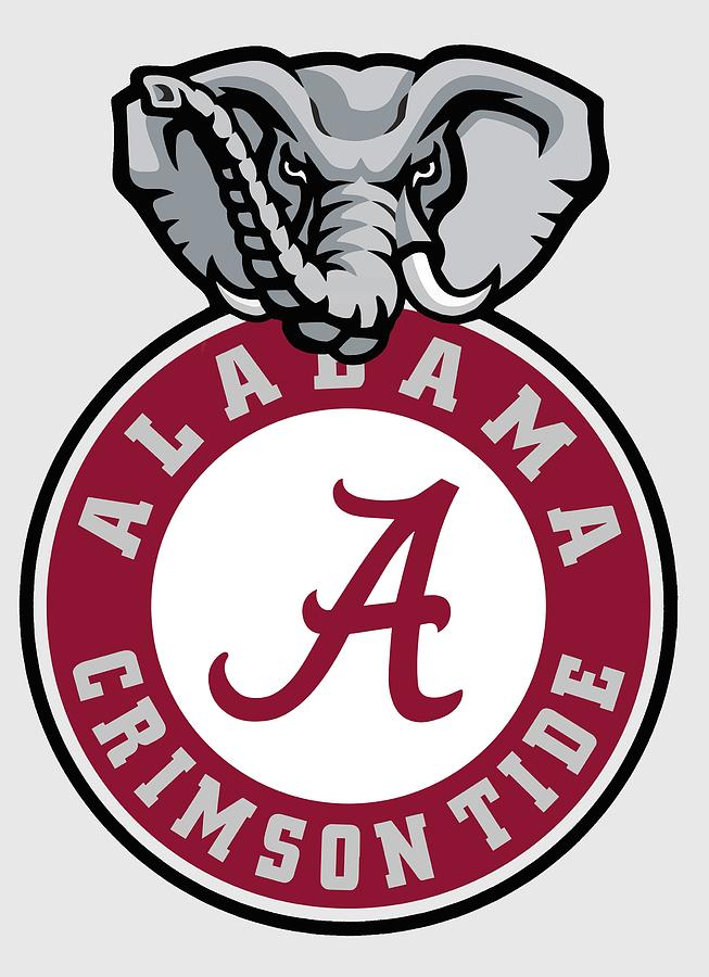 Alabama Crimson Tide Elephant T.