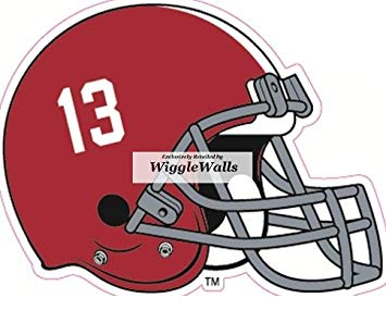 Amazon.com: 5 Inch Football Helmet University of Alabama Crimson.