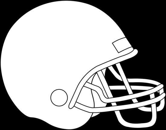 Football Helmet Coloring Page.