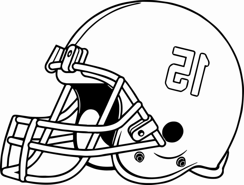 coloring ~ Coloring Excelent Football Helmet Pages Helmets Xflte.