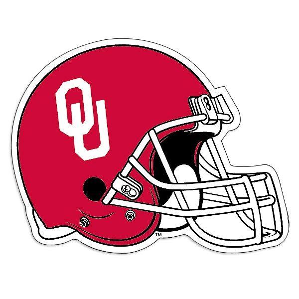 Oklahoma Sooners Helmet Logo.