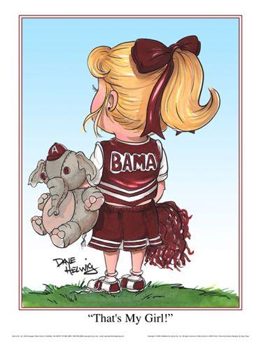University of Alabama Clip Art.