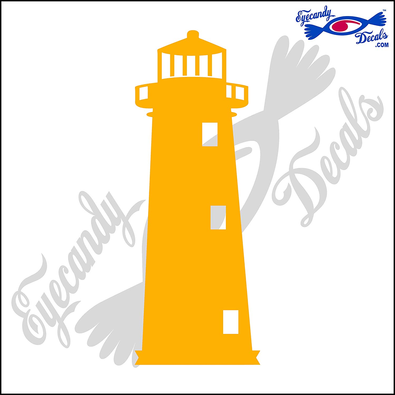 Amazon.com: Eyecandy Decals Sand Island Alabama Lighthouse 6.