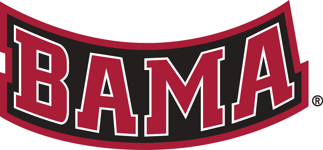 Alabama Crimson Tide Football Logo.