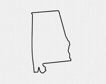 Alabama clipart template, Alabama template Transparent FREE.