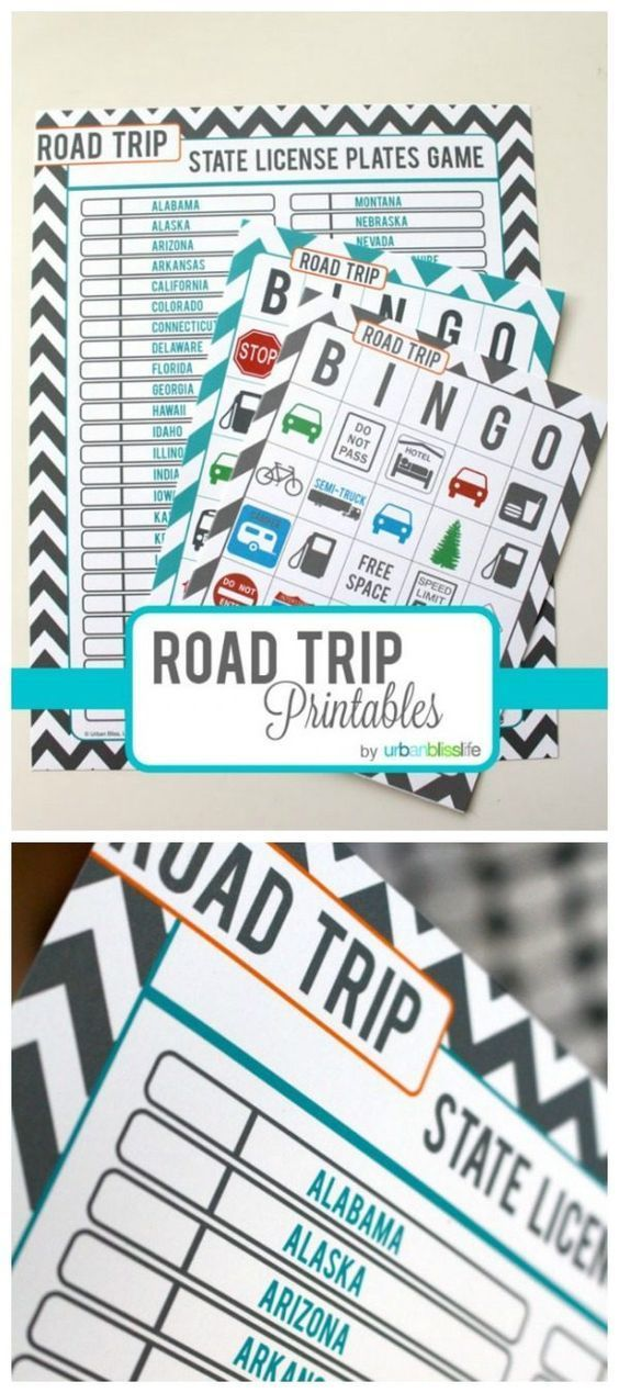 Road Trip Games for Kids.