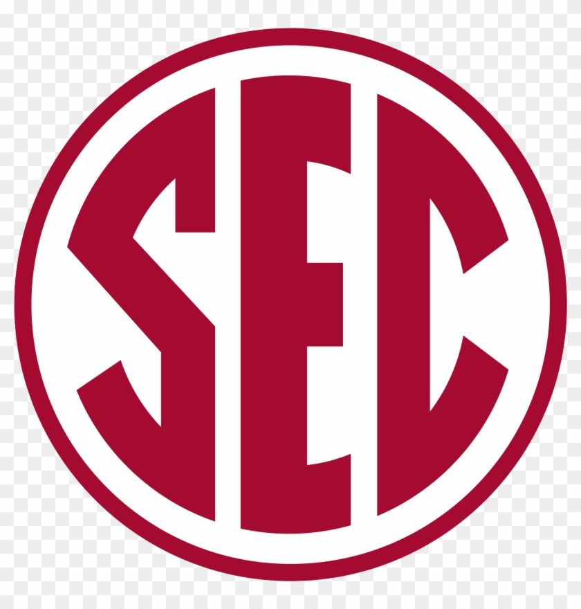 Sec Logo In Alabama Colors.