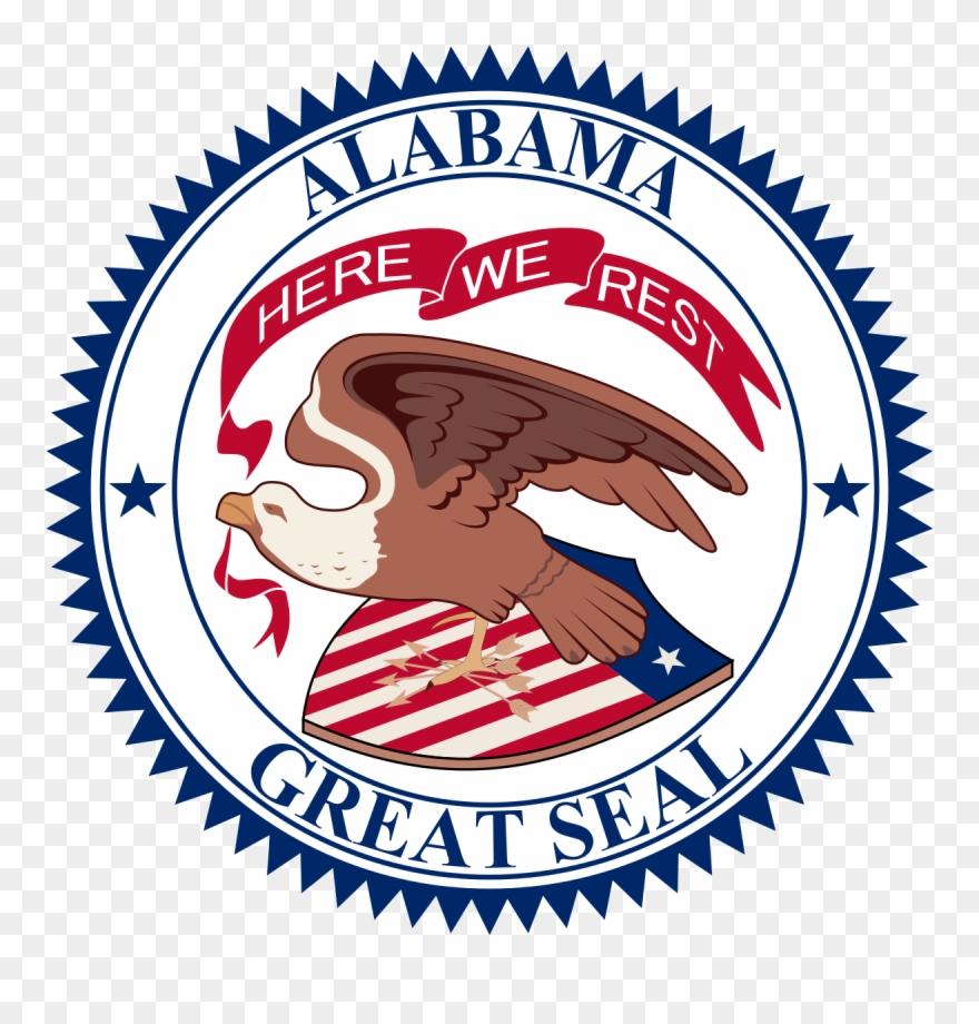 Alabama Seal Clipart (#2068521).