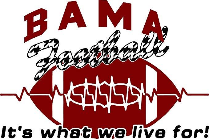 Amazon.com: Alabama Football Tee White Tee Bama Roll Tide.