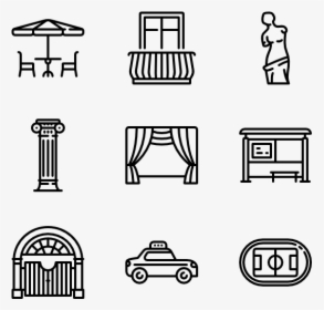 Clipart Cities And Towns, HD Png Download.
