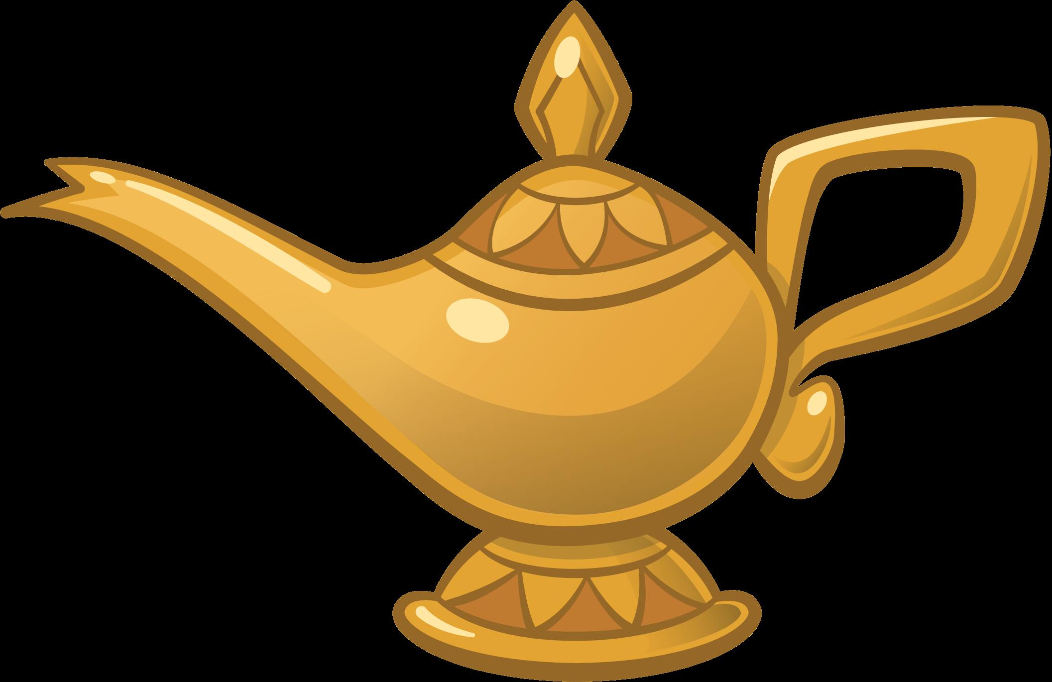 Genie Aladdin Oil lamp Jafar Light.