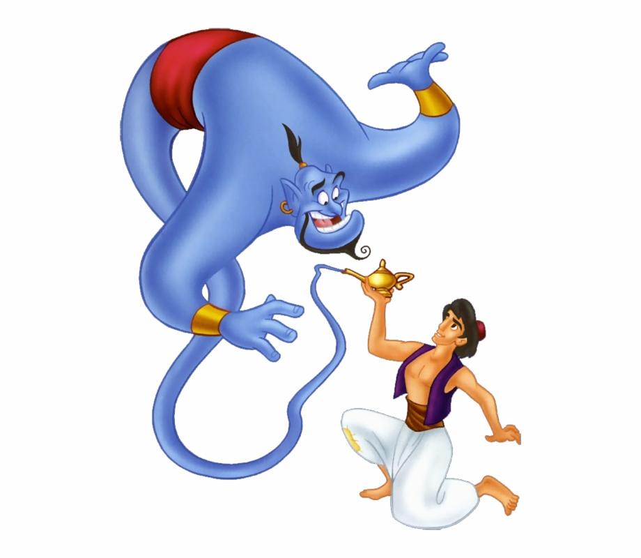 Genie Cliparts Aladdin And Genie Png.