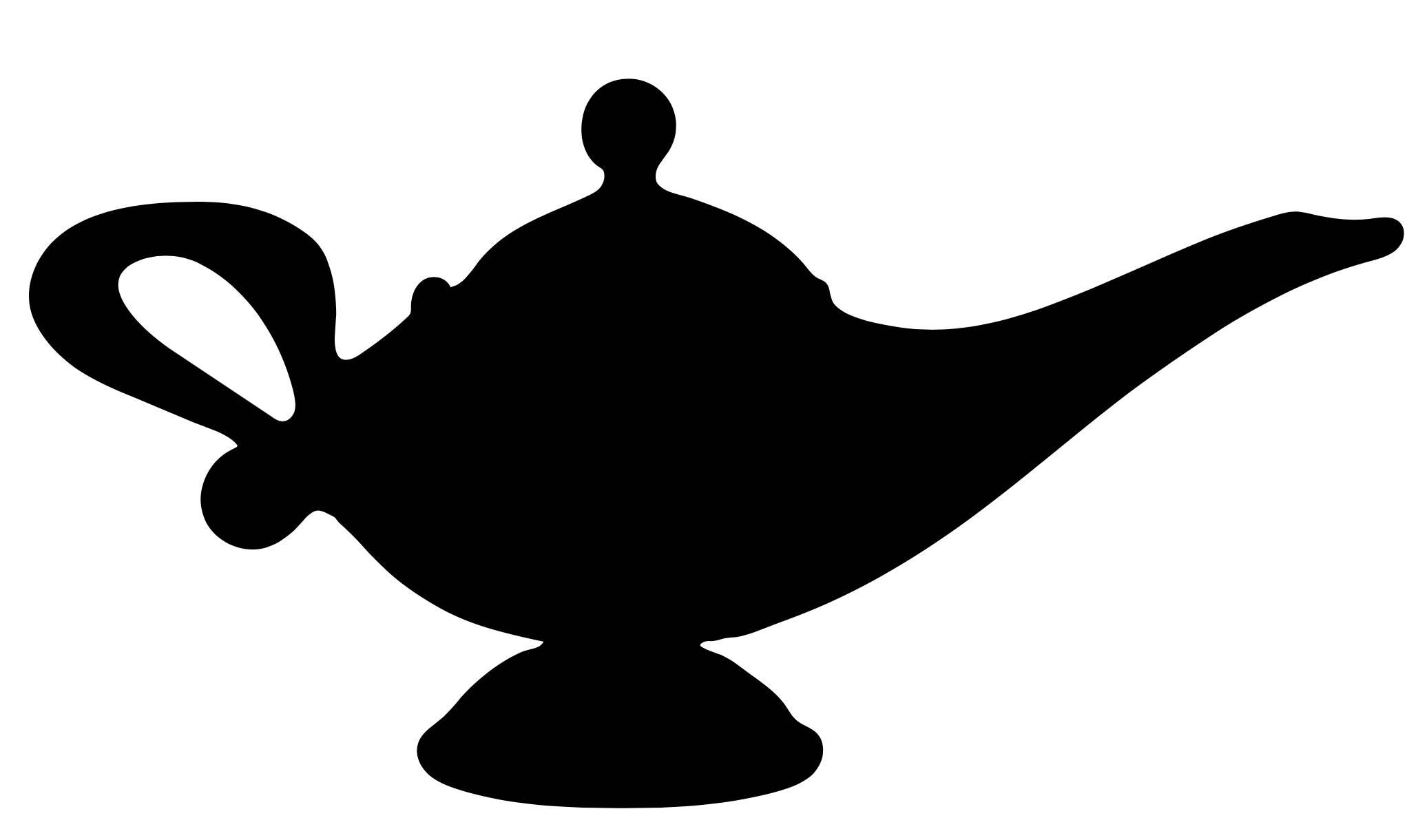 Genie Lamp Silhouette at GetDrawings.com.