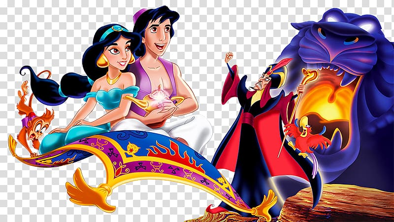 Princess Jasmine The Magic Carpets of Aladdin Genie, Cartoon.