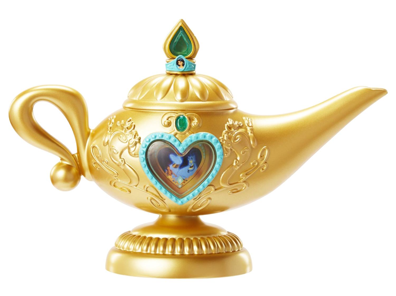 Genie Lamp PNG Transparent Image.