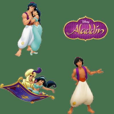 Aladdin transparent PNG images.