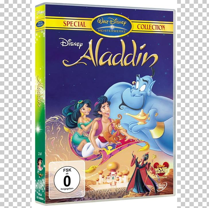 Aladdin Genie DVD Walt Disney Platinum And Diamond Editions.